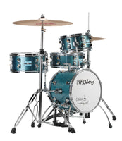 Odery Drums CafeKit Compact Drum Set IRCAFE-KIT-BS Blue Sparkle