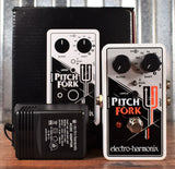 Electro-Harmonix EHX Pitch Fork Drop Polyphonic Pitch Shifter Guitar Effects Pedal