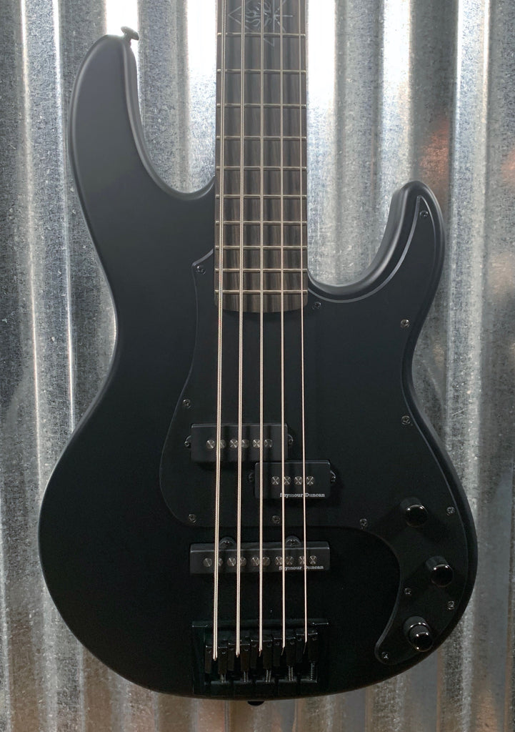 ESP LTD ORION-5 Black Satin 5 String Bass LORION5BLKS #1248