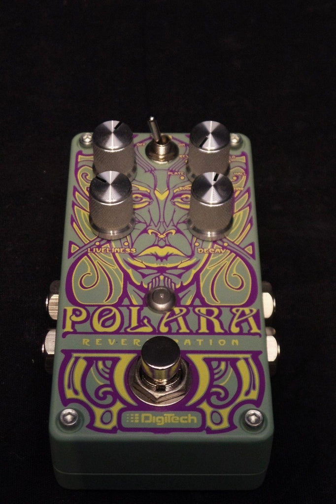 DigiTech Polara Reverb Effects FX Pedal for Electric Guitar