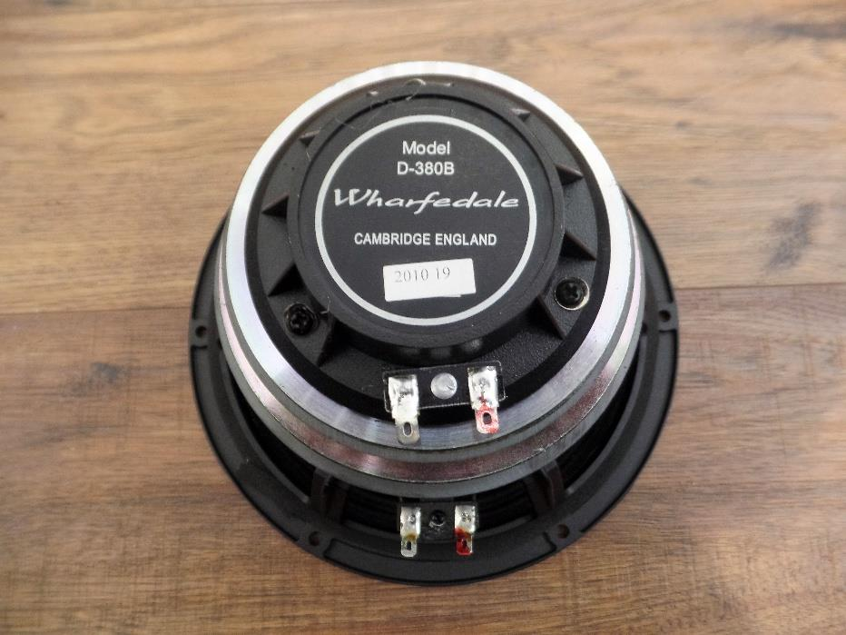 "Wharfedale Pro D-380B 8"" 8 Ohm Replacement Coax Driver Bass PA Speaker Diva"