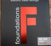 SIT Strings Foundations 4 String Medium Light Nickel Bass Set FN45105L