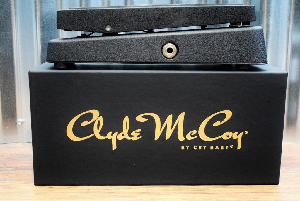 Dunlop CM95 Clyde McCoy Cry Baby Wah Signature Guitar Effect Pedal