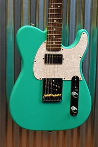 G&L Guitars USA ASAT Classic Bluesboy Electric Guitar Belair Green & Case #7203