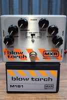 Dunlop MXR M181 Blowtorch Bass Overdrive Effect Pedal