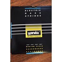 Warwick Black Label 4 String Medium Stainless Steel Piccolo Bass Strings 39260 .020-.080