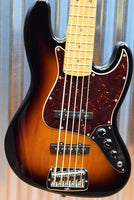 G&L Guitars USA JB-5 5 String Jazz Bass JB 3 Tone Sunburst & Case 2016 #7135