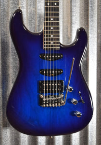 G&L Guitars USA Legacy HSS RMC Blueburst Electric Guitar & Case #8139 Demo