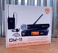 Nady Audio DW-11 HT Digital Wireless System Handheld Microphones & Receiver