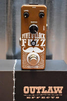Outlaw Effects Five O'Clock Fuzz Guitar Effect Pedal
