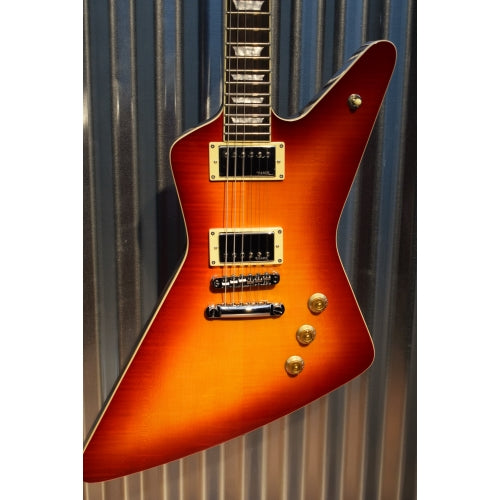 Hamer Guitars Standard Flame Top Cherry Sunburst Electric Guitar & Gig Bag #2288