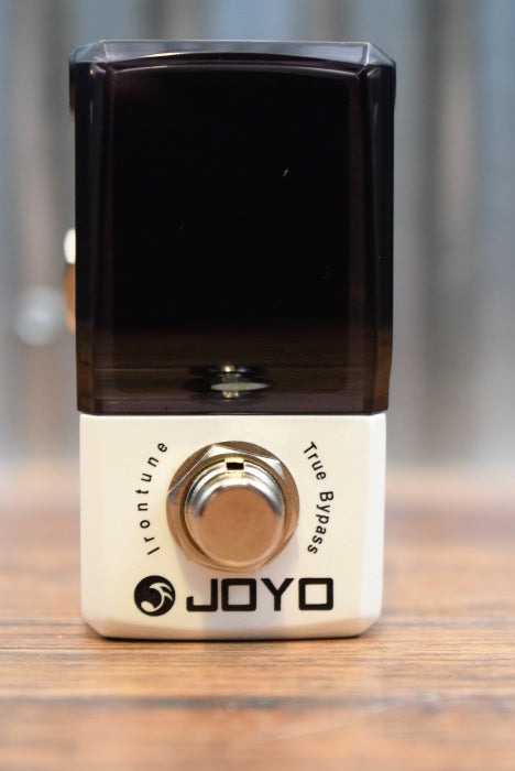 JOYO JF-326 Irontune Chromatic Pedal Tuner Guitar Bass Mini Guitar Effects Pedal
