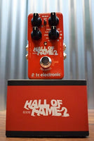 TC Electronic Hall Of Fame 2 Reverb Tone Print Guitar Effect Pedal