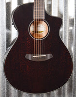 Breedlove Discovery Concert Black Widow CE Mahogany Acoustic Electric Guitar #8199 Blemished