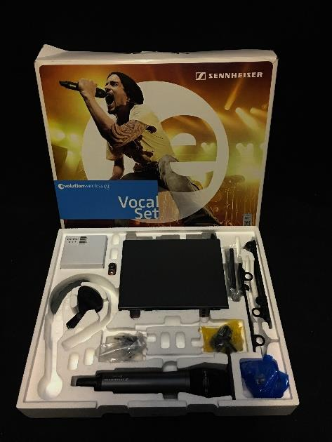 Sennheiser Vocal Set EW 135 G3 566-608 Mhz Wireless Microphone Set *