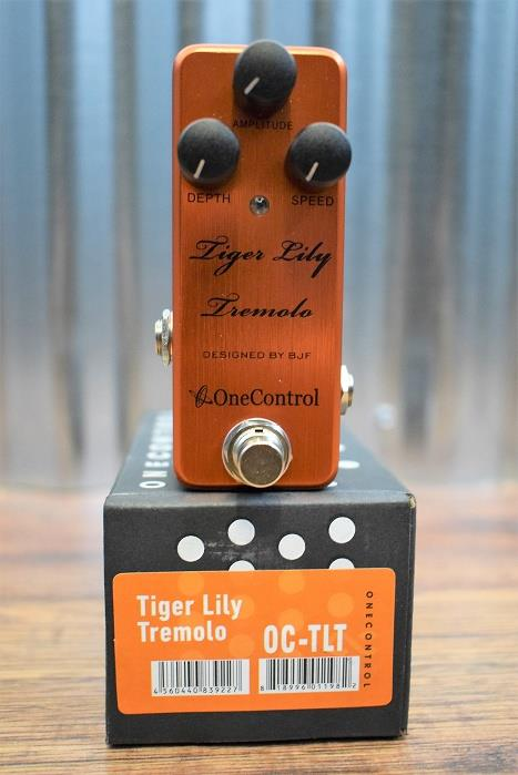One Control BJF Tiger Lilly Tremolo Guitar Effect Pedal