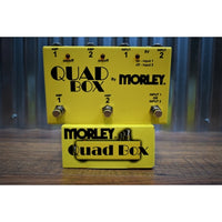 Morley Quad Box Amp or Guitar Selector Combiner Switcher Effect Pedal