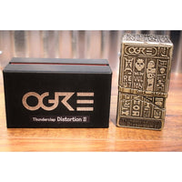 Ogre Guitar Thunderclap Distortion II Pro Series Guitar Effect Pedal