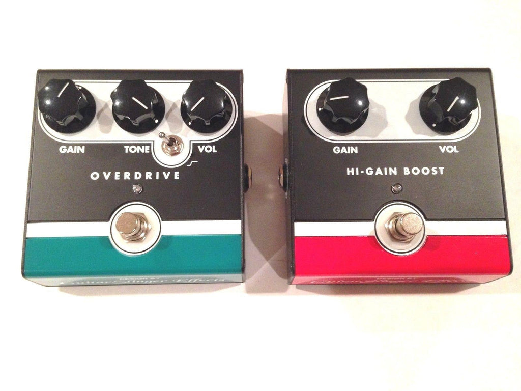 Jet City Guitar Slinger JHS OVERDRIVE & HI-GAIN BOOST Pedal Board Effect Combo