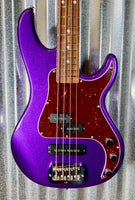 G&L USA Fullerton Custom SB2 Royal Purple 4 String Bass & Case SB-2 #2132