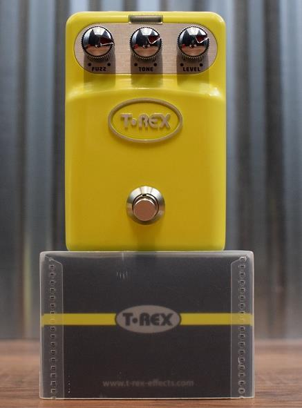 T-Rex Engineering Tone Bug Fuzz Guitar Effect Pedal Demo #977