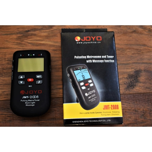Joyo Audio JMT-2008 Pulsating Metronome Tuner with Patented Vibrate Function