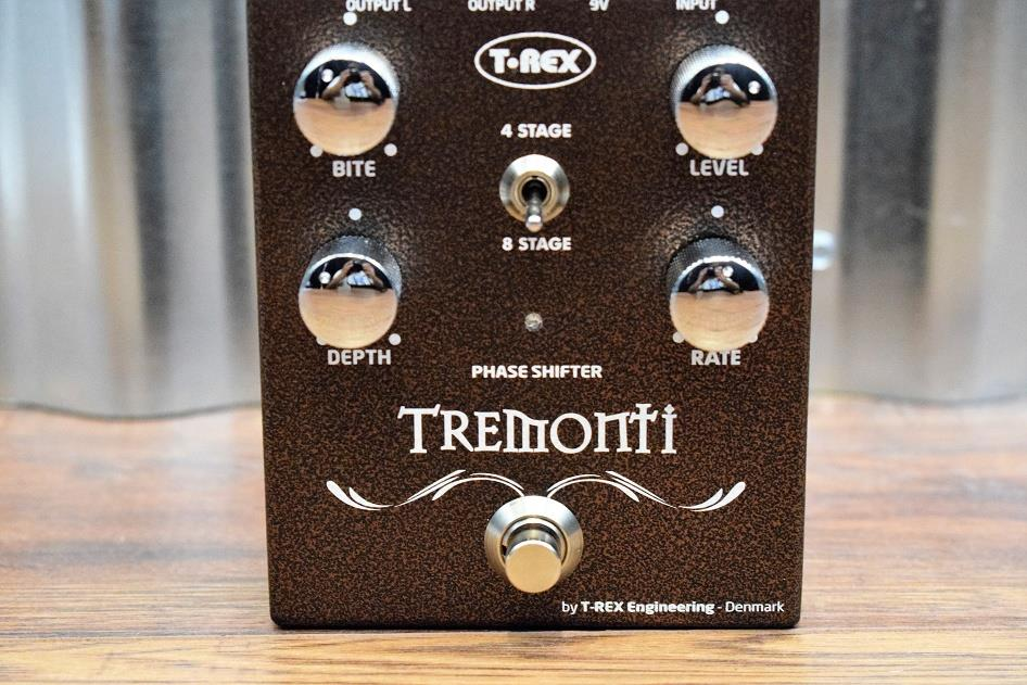 T-Rex Engineering Mark Tremonti Phase Shifter Guitar Effect Pedal Demo #200BC