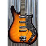 Hagstrom Retroscape Condor COR-TSB Tobacco Sunburst Electric Guitar & Case #0036