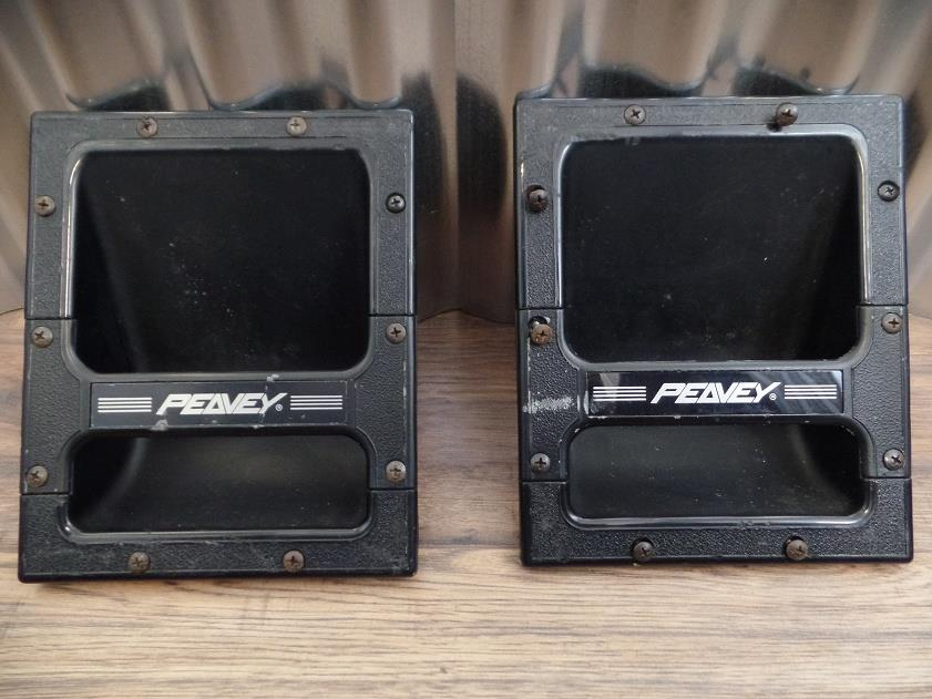 Peavey Recessed Handle Pair with New Logo Design for Peavey Speaker Cabinet