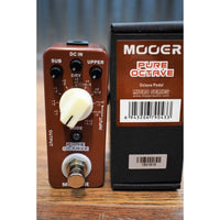 Mooer Audio Pure Octave Polyphonic Octave Guitar & Bass Effect Pedal