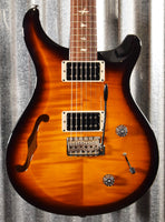 PRS Paul Reed Smith USA S2 Custom 22 Semi Hollow Tri Color Burst Guitar & Bag 2019 #8957 Demo