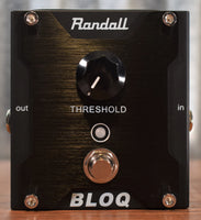 Randall BLOQ Dynamic Noise Gate Guitar Bass Effect Pedal B Stock