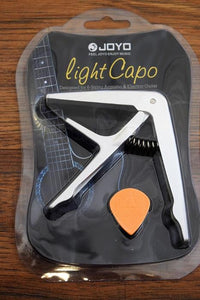 Joyo JCP-01 Light Capo 6 String Acoustic or Electric Guitar Capo Silver