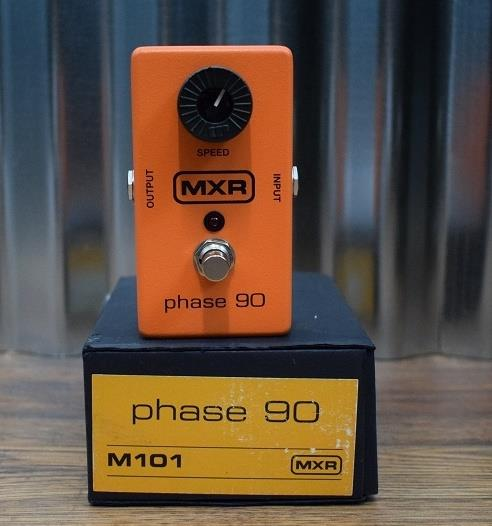 Dunlop MXR M101 Phase 90 Phaser Classic Orange Guitar Effect Pedal *