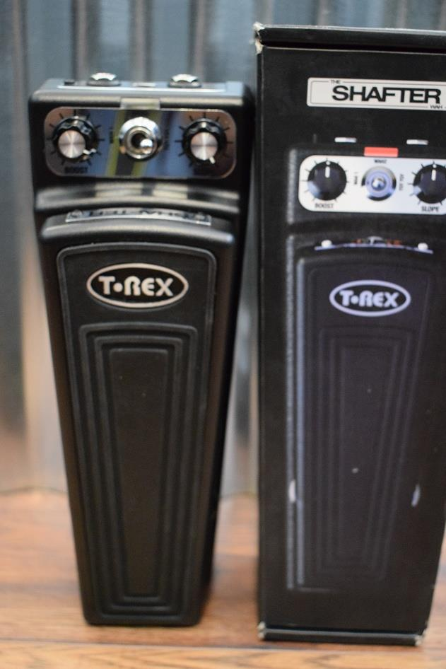 T-Rex Engineering Shafter Triple Mode Wah Guitar Effect Pedal Demo #082