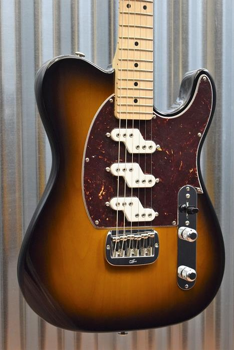 G&L Guitars USA Custom ASAT Z3 Tobacco Sunburst Electric Guitar & Case 2016 #7641