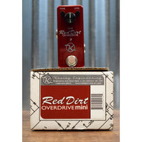 Keeley Red Dirt Mini Overdrive Guitar Effect Pedal