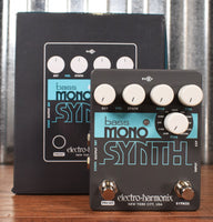Electro-Harmonix EHX Bass Mono Synth Bass Synthesizer Effect Pedal
