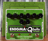 Electro-Harmonix EHX Enigma Q-Balls Envelope Filter Bass Effect Pedal