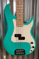 G&L USA Fullerton Custom LB100 Belair Green 4 String Bass & Case LB-100 #8014