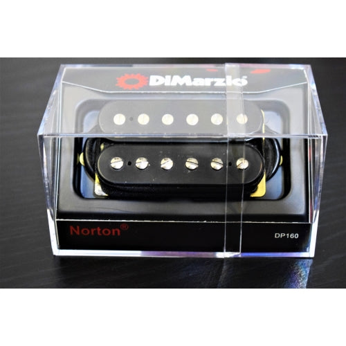 DiMarzio DP160 Norton Humbucker Guitar Pickup Black DP160BK
