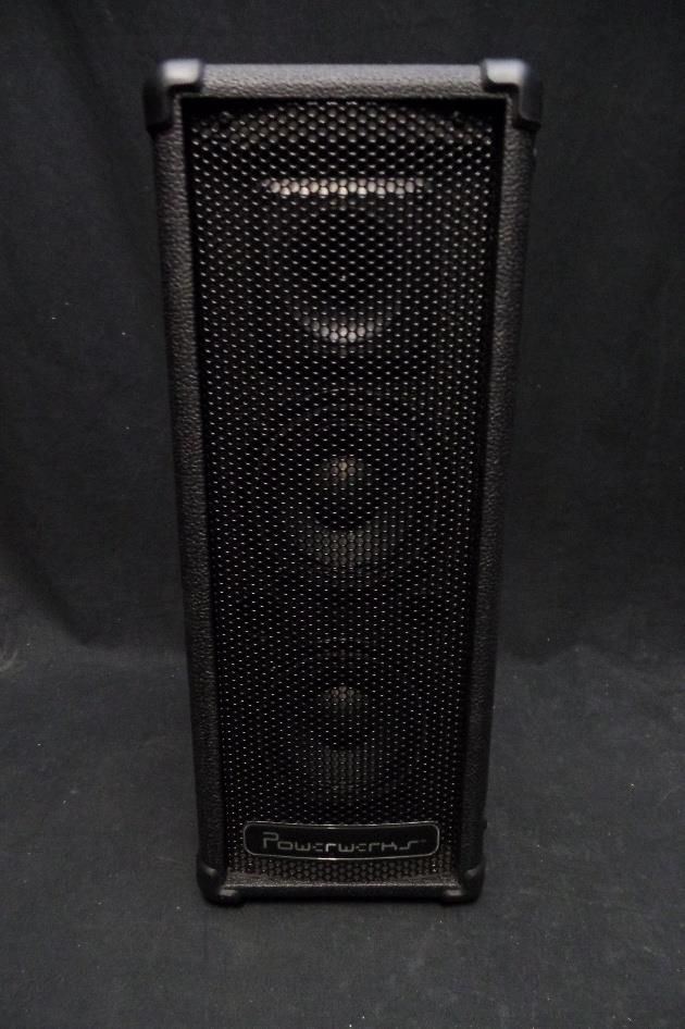 Powerwerks PW50BT 3 Channel 50 Watt Portable Personal Bluetooth PA System #0102*