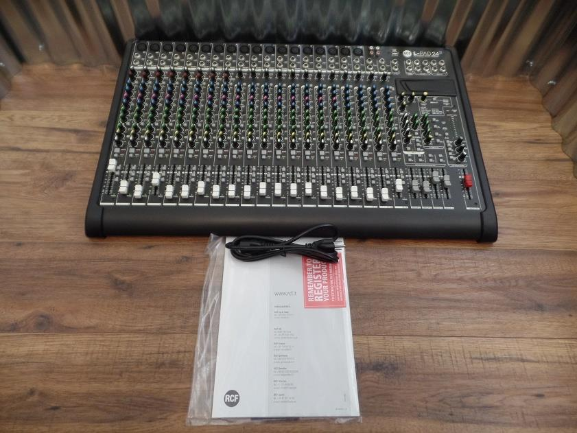 RCF L-PAD 24 CX USB 24 Channel Mixing Console with Effects 24CXUSB *