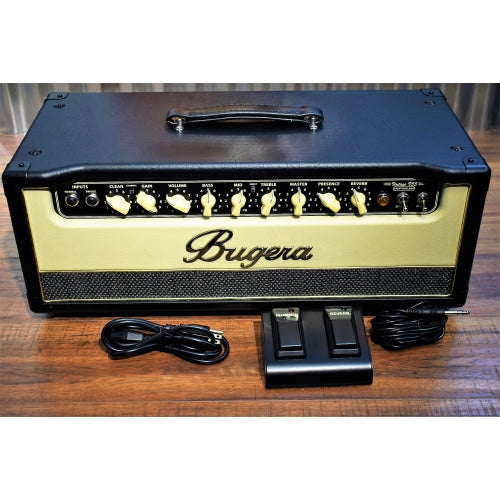 Bugera V55HD Infinium 55 Watt 2 Channel & Reverb All Tube Guitar Amplifier Head
