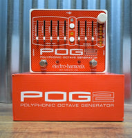 Electro-Harmonix EHX POG2 Polyphonic Octave Generator Guitar Bass Effect Pedal