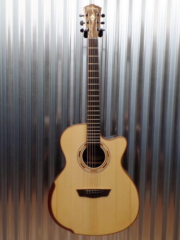 Washburn WCG25SCE Comfort Series Grand Auditorium Acoustic Electric Guitar #0129