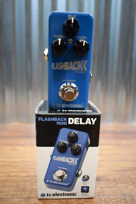 TC Electronic Flashback Mini Delay Guitar Effect Pedal