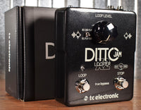 TC Electronic Ditto JAM X2 with BeatSense Technology Guitar Effect Pedal