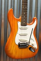 G&L Guitars USA Custom Legacy Honeyburst Electric Guitar & Case NOS 2015 #4897