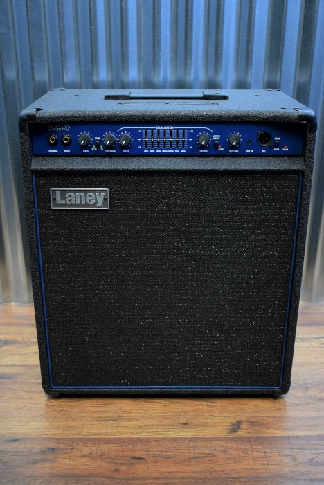 "Laney RB4 165 Watts 1x15"" HF Horn Bass Guitar Combo Amplifier Demo"